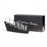 Domino Shots, les verres shooter domino lumineux avec cascade