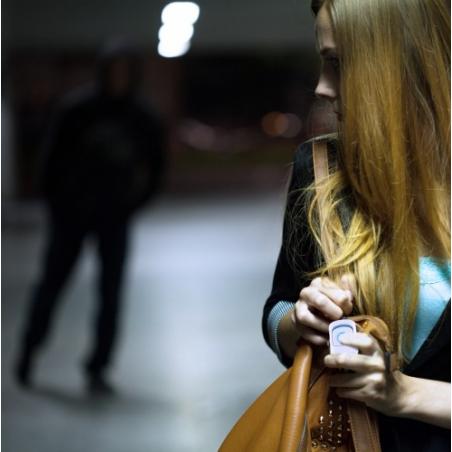 Bouton SOS alerte agression par téléphone portable
