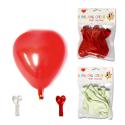 Ballons en forme de coeur (lot de 8)