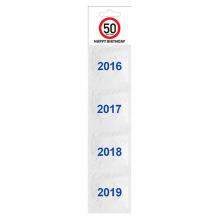 Kit de préservatifs 50 ans (lot de 4)
