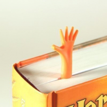 "Marque-page main ""aidez-moi"" (lot de 4)"