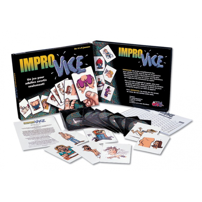 Improvice : un jeu pour adultes avertis seulement !