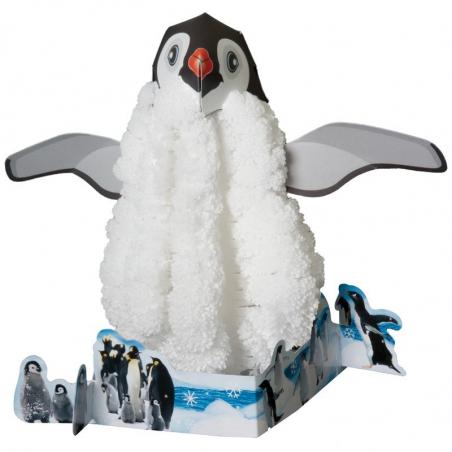 Pingouin de cristal, le pingouin magique qui grandit