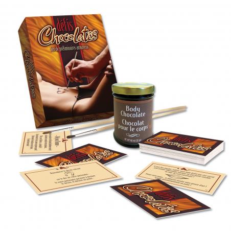 Coffret défis chocolatés