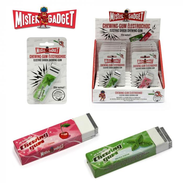 Chewing-gum électrique