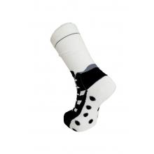 Paire de chaussettes football chaussures avec crampons