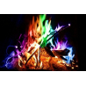 Mystical Fire, la flamme multicolore magique