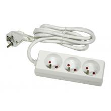 Multiprise 3 prises 3 x 1,5mm câble 4m