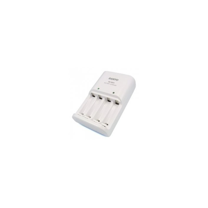 Chargeur de piles rechargeables AA ou AAA Sanyo