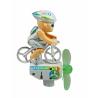 Vélo qui pédale avec élioenne Chipmunk