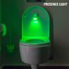 Lampe avec détecteur de mouvements pour la cuvette des toilettes
