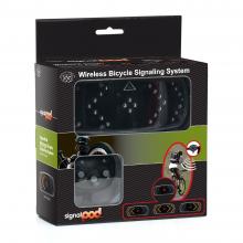 Clignotants sans fil pour vélo avec boitier de commandes