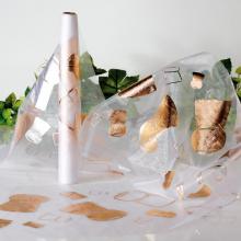 Chemin de table bouchons de champagne en Organza