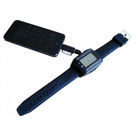 Montre solaire chargeur de téléphone