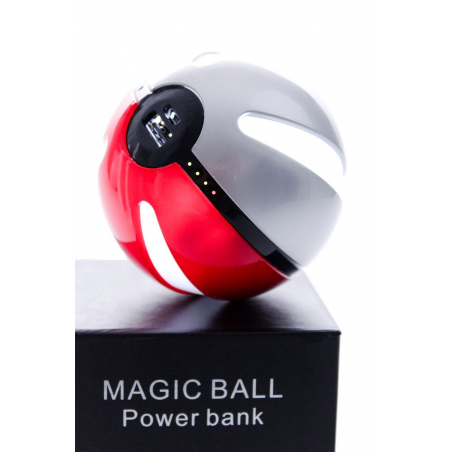 Pokéball Power Bank batterie externe pour Pokémon GO 10 000 mAh