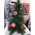 Préservatif humoristique Boules de Noël