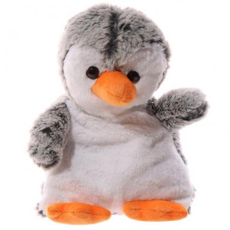 Peluche PINGOUIN bouillotte micro onde