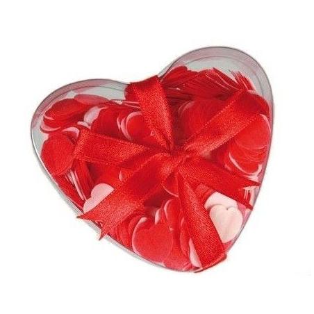 Confettis coeur pour le bain