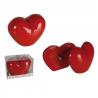 Salière et poivrière Coeur rouge