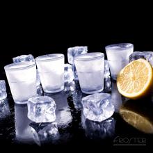 Lot de 4 verres à Shot glacés