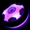 Ballon de foot lumineux sur coussin d'air