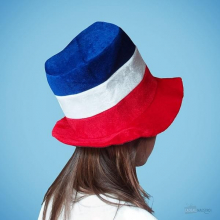 Chapeau bleu blanc rouge allez la france