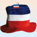 Chapeau coq bleu blanc rouge allez la france