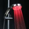 Douche lumineuse à capteur de température