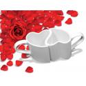 Set de 2 Tasses Coeur