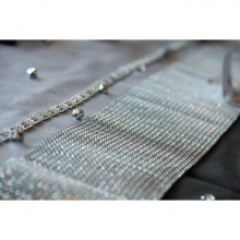 Chemin de table diamant strass