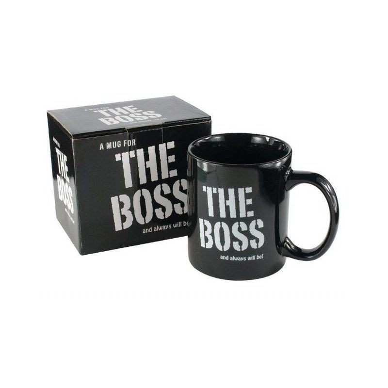 mug the boss and always will be. Black Bedroom Furniture Sets. Home Design Ideas