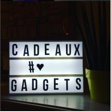 Lightbox Tableau Lumineux à messages