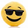Coussin Emoticon lunettes de soleil 30cm