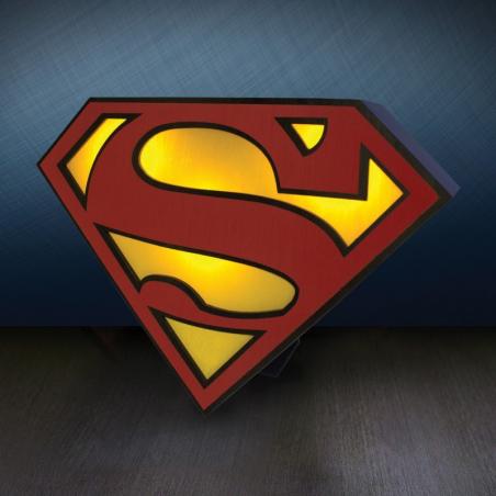 Lampe Superman logo