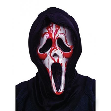 Masque de scream sanglant