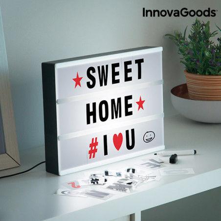 Écran LED pour Écrire des Messages Cinéma InnovaGoods