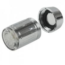 Embout de robinet lumineux à capteur de température