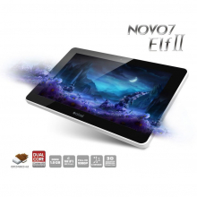 "Tablette tactile 7"" Ainol Novo 7 elf II Android 4.0 Dual Core 1.5 Ghz, 1 GO de ram, 8 GO de stockage, WIFI..."