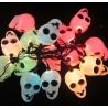 Guirlande lumineuse têtes de mort