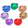 Rose lumineuse à couleurs changeantes