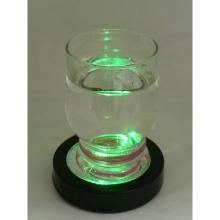 Dessous de verre lumineux multicolore